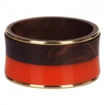 bracelet-bois-femme-orange 15.90€ MOONBOW