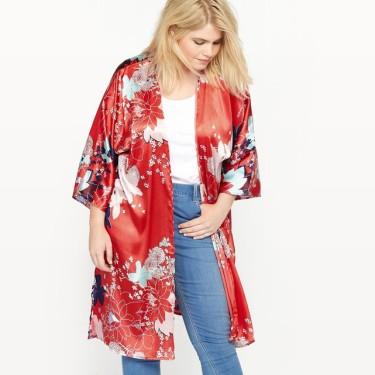 CASTALUNA - Kimono à fleurs
