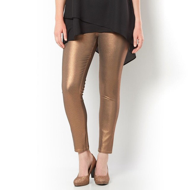 CASTALUNA - Pantalon jegging enduit