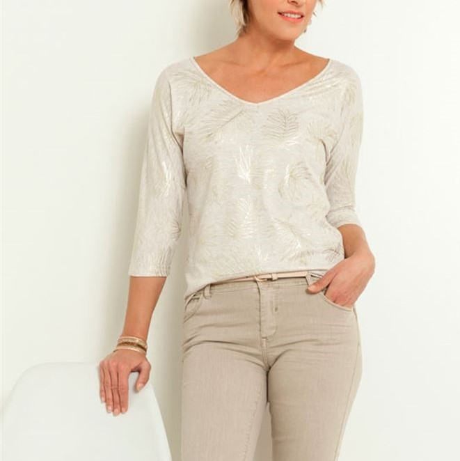 GRAIN DE MALICE - T-shirt femme imprimé
